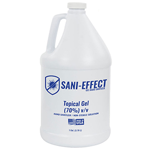 ONE GAL GEL SANI-EFFECT HAND SANITIZER