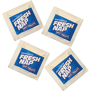 "5""x8"" KARI-OUT FRESH NAP HAND WIPE 1000/CS"