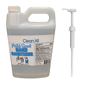 LIQUID HAND SANITIZER SURFACE CLEANER W/PUMP