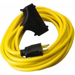 2FT IN-LINE 15AMP TRI TAP CORD