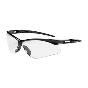 CLEAR ANSER SEMI-RIMLESS SAFETY GLASSES