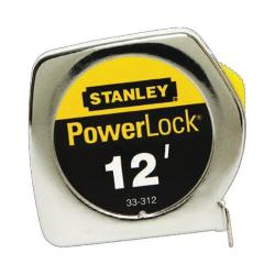 "33-312 12' x 3/4"" POWERLOCK TAPE MEASURE"