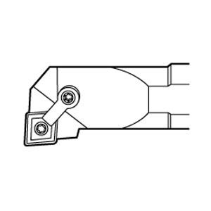 A32-MCLNR-4 2IN RH STEEL THRU COOL BORING BAR